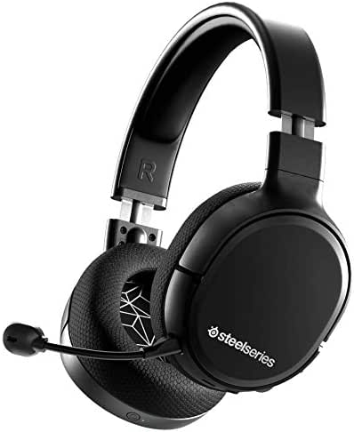 SteelSeries Arctis 1 Wireless Gaming Headset – USB-C Abnehmbares Clearcast Mikrofon – für PCPS4Nintendo Switchandroid