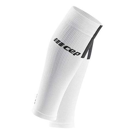 CEP - Calf Sleeves 3.0 für Herren | Beinstulpen für exakte Wadenkompression in weiß/grau | Größe III