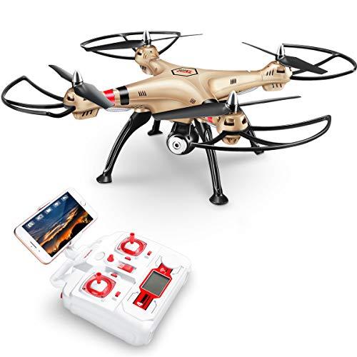 DoDoeleph Syma X8HW RC Quadcopter Drone Quadricottero Droni con FPV La Macchina HD Fotografica