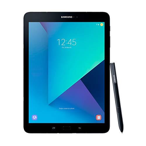 """Samsung Galaxy Tab S3 - Tablet de 9.7"""" 2K (WiFi + 4G, Procesador Quad-Core Snapdragon 820, 4 GB de RAM, 32 GB de Almacenamiento, Android 7.0); Negro"""
