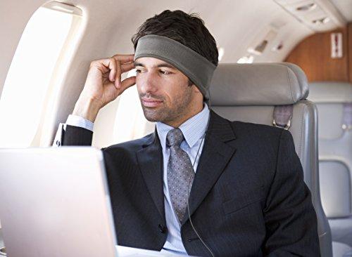 AcousticSheep souple, FIN sleepp Smartphones Classic Breeze Polyester-Bandeau avec écouteurs intégrés pour Smartphone et Tablette 27