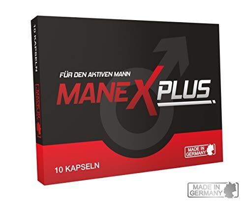 ManexPlus - für den aktiven Mann - 100 {e6923bca6757cf5aa40e66349f7429c20351a56b56ae198cf5bc087640b48a1c} Natürlich - Liebe, Lust + Sperma - 10 Kapseln - Kraftvolle Unterstützung