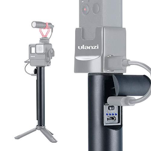 ULANZI BG-1 5200mAh Power Bank Poignée Vlog Monopod Trépied pour GoPro 7 6 5 DJI Action OSMO Appareils photo numériques compacts de poche et smartphones iPhone OnePlus 7 Pro