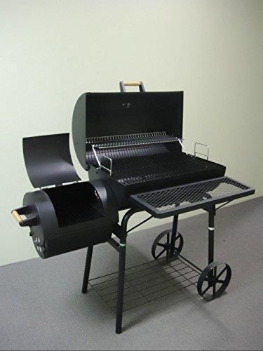 Smoker OGA032 - Barbacoa de carbón (aprox. 1,5 mm, acero, 32 kg)