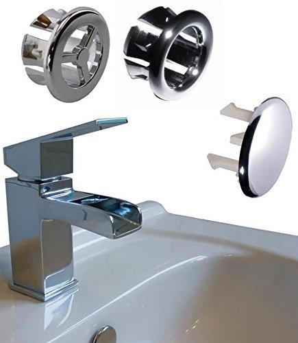 Lwd 3 pcs bouchon de trop plein pour meuble de cuisine de for Bouchon de lavabo salle de bain