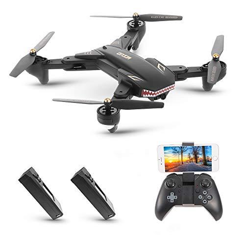 Goolsky VISUO XS809S Drone 2.0MP Grand Angle Caméra Wifi FPV Pliable Drone Une Clé Retour Altitude Maintenir G-capteur Quadcopter avec Une B... 4