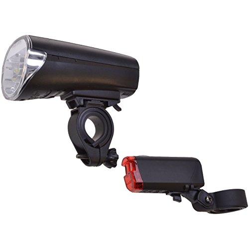 Beleuchtungsset 30LUX Fahrradbeleuchtung Vorderlicht Rücklicht Fahrradlicht Set