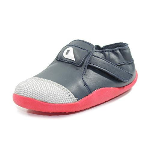 BOBUX - Scarpa blu in pelle, modello Step up, ideale per i primi passi e per il gattonamento, Bambino, Neonato-18