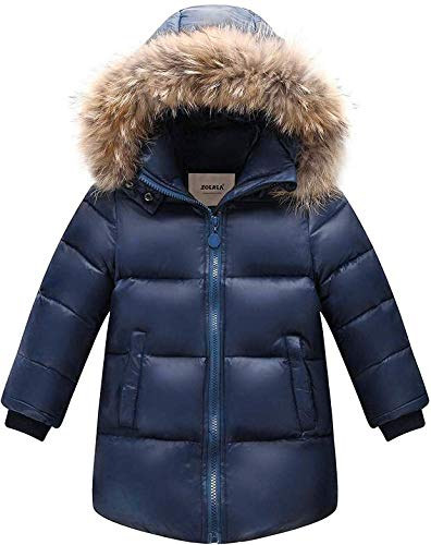 Zoerea Giubbotti Piumino Bambino Inverno Caldo Bambini Addensare Outfit Piumino con Cappuccio