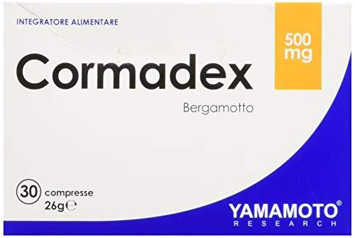 Yamamoto Research Cormadex integratore alimentare di Coenzima Q10 ed estratto di Bergamotto 30 compresse