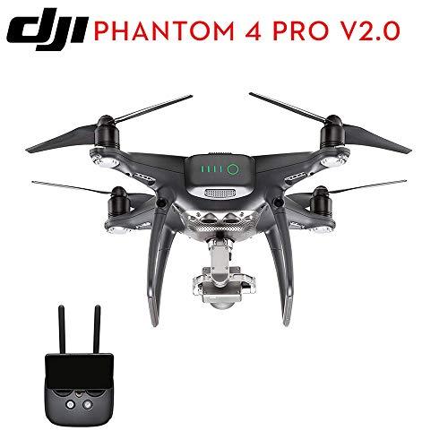 BQT DJI Drone Camera Phantom 4 PRO V 2.0 1-inch 20MP sensore CMOS Exmor R, Tempo di Volo più Lungo e Caratteristiche più Intelligenti, 4K Full HD Video Aerei Giocattoli,Black