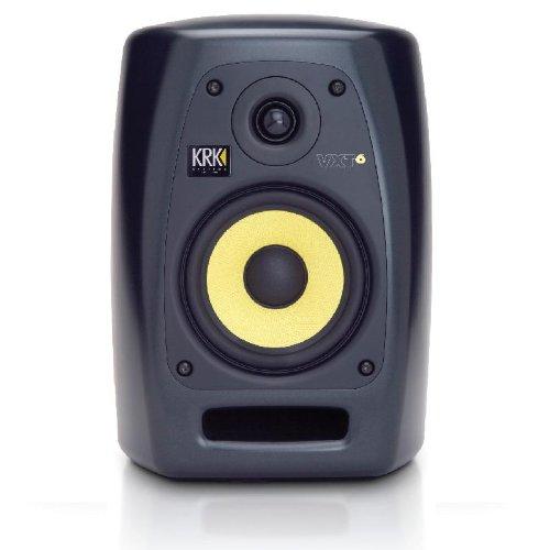KRK VXT6 altavoz - Altavoces (Speaker set unit, De 2 vías, Mesa/estante, Montar en la pared, 90W, 49-22000 Hz, 10000 Ohmio) Negro