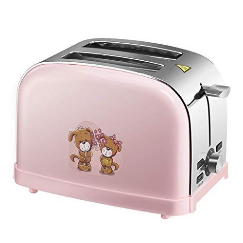 KIJUH Toaster 2 Slice Warming Rack in Acciaio Inox Spazzolato per Colazione Pane Tostapane...