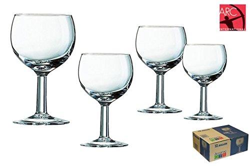 Arcoroc Ballon Bicchiere di vino 120ml, 12 Bicchieri