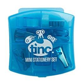 Tinc MSSET2BL mini set di cancelleria–blu (confezione da 6)