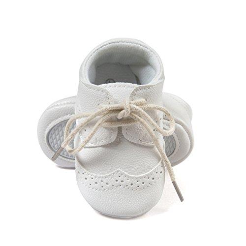 ESTAMICO, Scarpe primi passi bambini bianco White 6-12 mesi