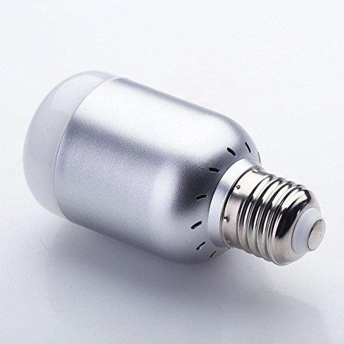 Bluetooth APP Control Music Audio Speaker LED RGB Smart Bulb Light Lamp E27