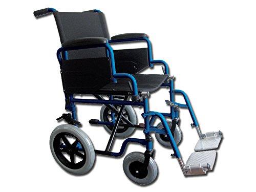 Carrozzina Essex, seduta 46 cm, sedia a rotelle per anziani