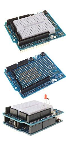 418P sZInyL - [Sintron] Arduino Uno R3 Board Starter Kit with PDF files & Tutorial CD en español + Transparent Acrylic Case LCD Servo Motor Sensor Module etc, for Arduino Starter Learner