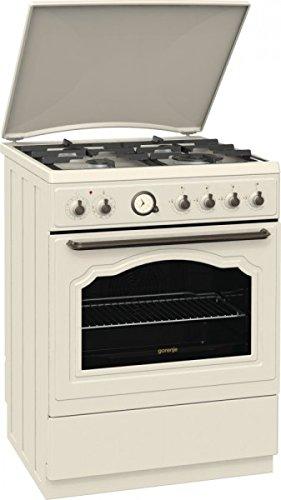 Gorenje K67CLI Piano cottura Gas A Avorio cucina