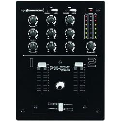 Omnitronic 10006819 PM-222 2-Kanal-DJ-Mixer