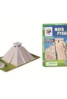 ZRW Juguetes educativos Puzzle Mágico Maya Pirámide Egipto Modelo 3D Puzzle para Niños y adultos Jigsaw Puzzle (19PCS, B668-5)