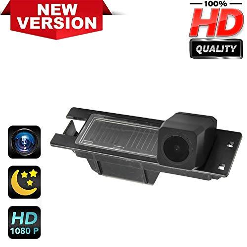Telecamera di retromarcia HD 1280 x 720p per targa di immatricolazione, impermeabile, visione notturna, per Opel Astra H J Corsa Meriva Vectra Zafira Insignia Fiat Grande Buick Regal