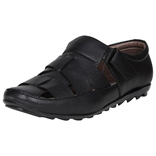Kraasa 6020 Casual Men's Sandals Black UK 8