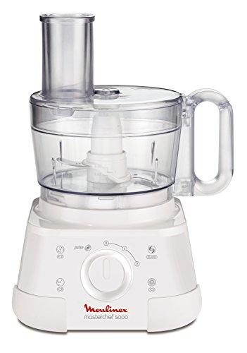 Moulinex FP513110 Masterchef 5000 - Robot de cocina, color blanco