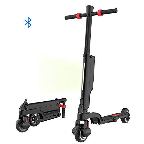 Lhoutdoor Scooter Elettrico Pieghevole in Lega di Alluminio Scooter 2 Ruote in Piedi Fast Hoverboard...