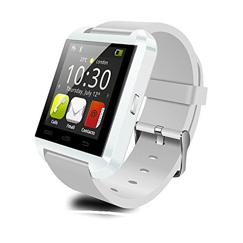 U8 White color Bluetooth Smartwatch for iPhone,Android, BLackberry & Windows Phone