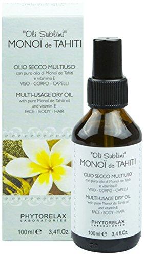 Phytorelax Laboratories Monoi De Tahiti Multi-Usage Dry Oil - 100 ml