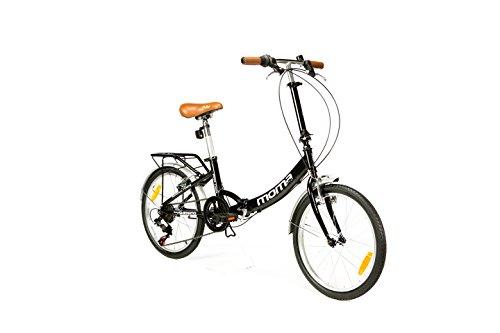 """Moma Bikes, Bicicletta pieghevole, ruote da 20"""" Shimano, Alluminio"""