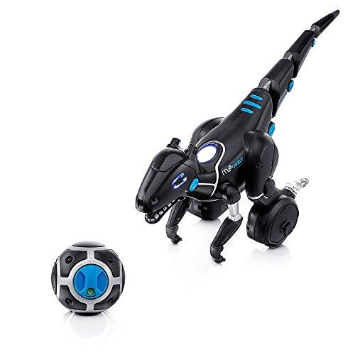 418poxpwSfL - Juguetrónica- Robot MiPosaur, Color Negro (WowWee 0890)