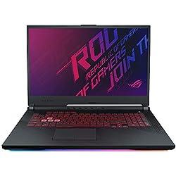 "ASUS ROG Strix G G731GT 17.3"" FHD Gaming Laptop GTX 1650 4GB Graphics (Core i5-9300H 9th Gen/8GB RAM/1TB SSHD + 256GB PCIe SSD/Windows 10/Black/2.85 Kg), G731GT-AU022T"