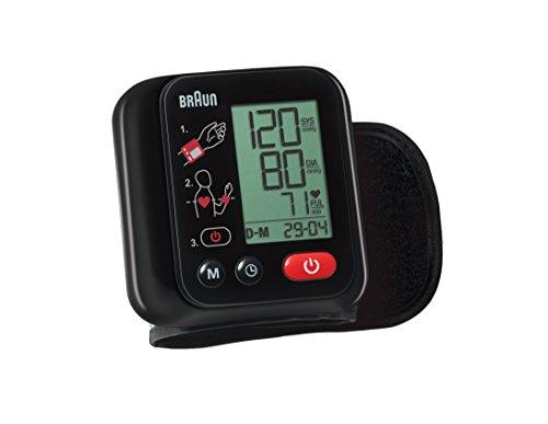 Braun VitalScan 3 BBP2200 Misuratore Automatico della Pressione Arteriosa da Polso, Nero