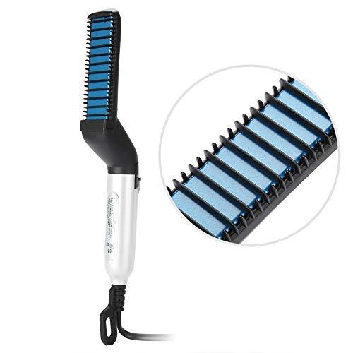 Brosse Lissante Chauffante - Céramique - Coiffeur - Tous types de cheveux - Brosse Cheveux - Chauffage Rapide - Lisseur Cheveux Professionnel Anti-statique et Anti-brûlure(EU)