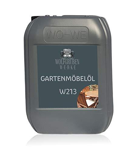 Olio per Mobili da Giardino e Terrazza Cura Legno di Teak | WO-WE W213 | 5L