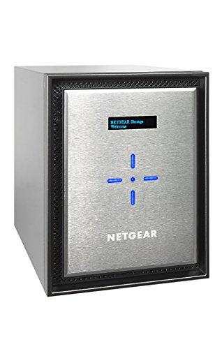 Netgear RN526X00-100NES ReadyNAS Private Cloud 526X Storage di Rete, 6 Slot, Senza Dischi, RAM 4 GB,...