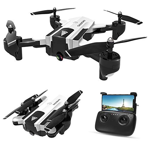 Goolsky SG900-S GPS Drone RC con Telecamera 1080P WiFi FPV Follow Me modalitš€ Surround Multi-Point Fly Altitude Hold Pieghevole RC Quadcopter 20 Minuti