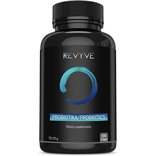 Probiotika mit fortschrittlicher ultrahochfester Formel, das beste tägliche Ergänzungsmittel für Männer und Frauen, einschließlich Lactobacillus und Acidophilus (120 vegane Kapseln)