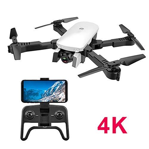 Telecamera HD 4K Drone Pieghevole Drone Ottico Posizionamento Del Flusso Seguito Da Aeromobili A Controllo Remoto Aereo Professionale HD A Quattro Assi Modalità Senza Testa Ritorno Con Un Tasto,3