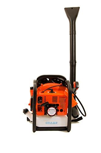 Soplador de hojas con mochila de gasolina 65cc, extremadamente potente - 210MPH