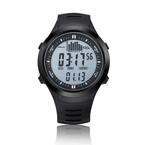 SPV709 SPOVAN reloj deportivo, multifuncional reloj pesquero electrónico al aire libre barómetro escalada presión de aire reloj luminosa elevación impermeable