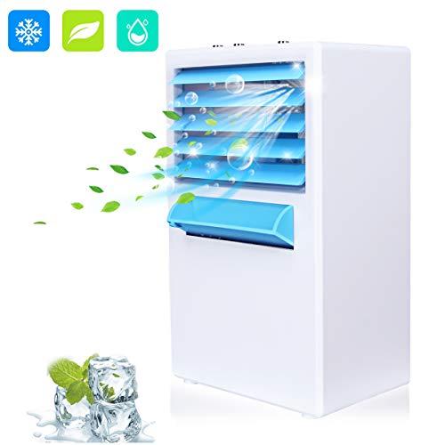Condizionatore portatile, Air Cooler Personale 3 in 1 Ventilatore, Raffreddatore d'aria und...
