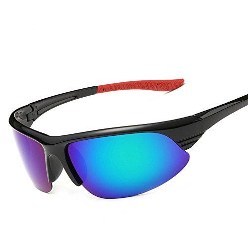 YANKAN Hombres y Mujeres Profesionales Que Montan Gafas de Sol Gafas de Bicicleta Ligeras Gafas UV400 para Exteriores Antideslumbrante, Inastillable