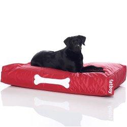hundeinfo24.de FATBOY Doggielounge big rot! Hundekissen Original, Sitzsack für den Hund, Hundebett, Doggybag groß!