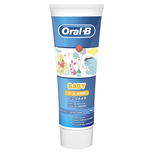 Oral-B Pro-Expert Stages Zahnpasta mit Figuren aus Disneys Micky Maus, 3er Pack (3 x 75 ml)