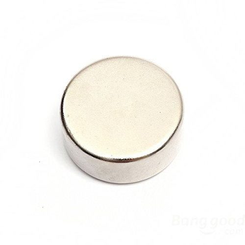 Magnetastico | 10 pezzi magneti al neodimio N52 dischi 20x5 mm | Magneti molto forti | Supermagnete...