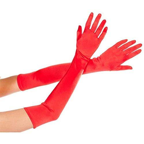 Inception Pro Infinite (Rosso Guanti Lunghi Elasticizzati - Accessori - Travestimento - Costume -...